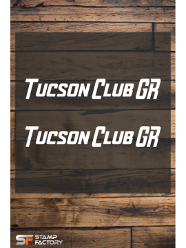 Αυτοκολλητο Tucson Club.gr