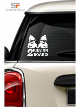 2 Kids on board