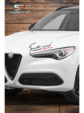 Powered by Alfa Romeo