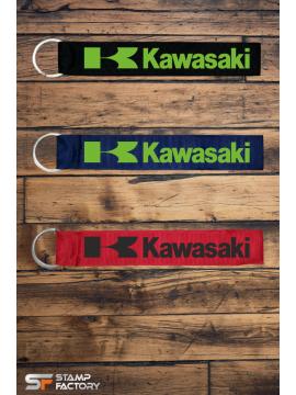 Υφασματινο μπρελοκ Kawasaki